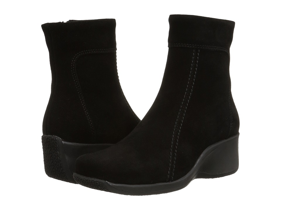 La Canadienne - Felicia (Black Suede) Women