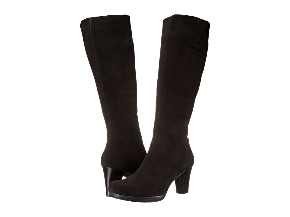 La Canadienne - Kara (Black Suede) Women