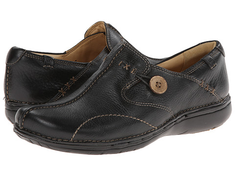 Clarks Un.loop - Black Leather