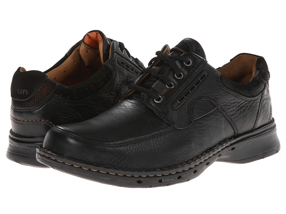 Clarks - Un.bend (Black Leather) Men