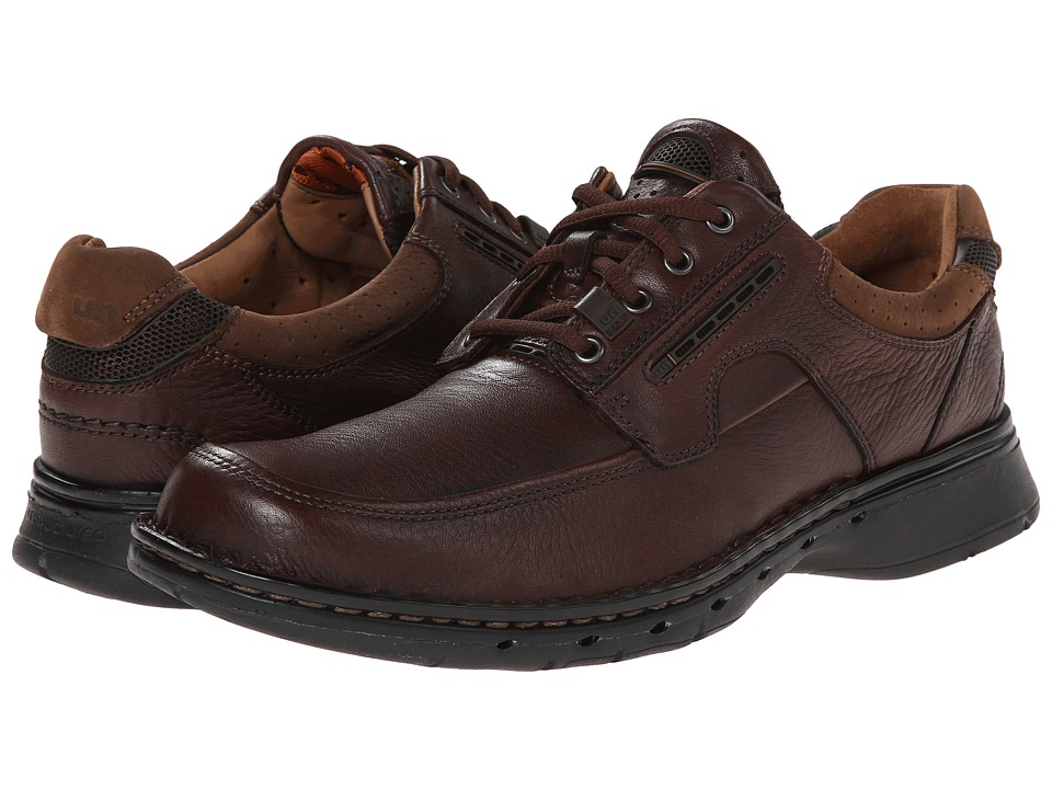 Clarks Un.bend (Brown Leather) Men