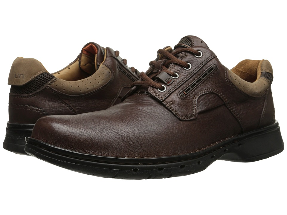 Clarks Un.ravel (Brown Leather) Men
