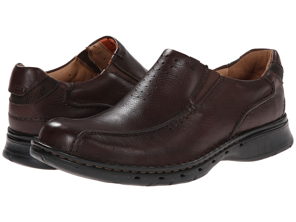 Clarks - Un.seal (Brown Leather) Men