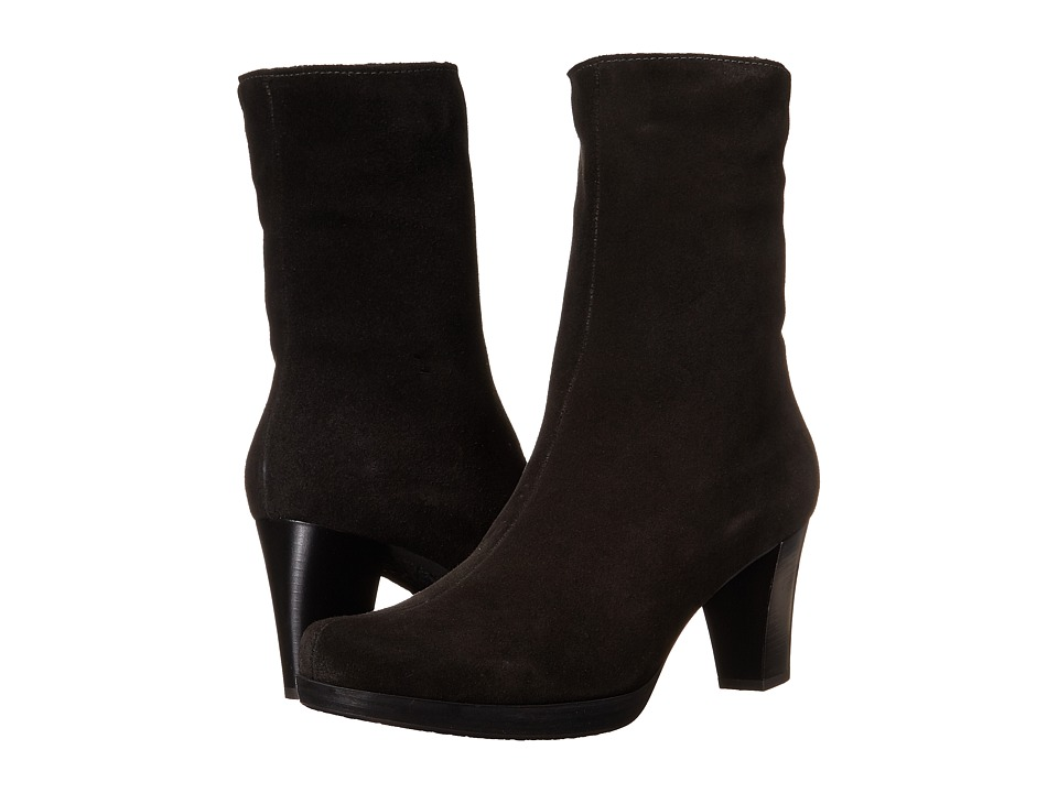 La Canadienne - Kate (Black Suede) Women