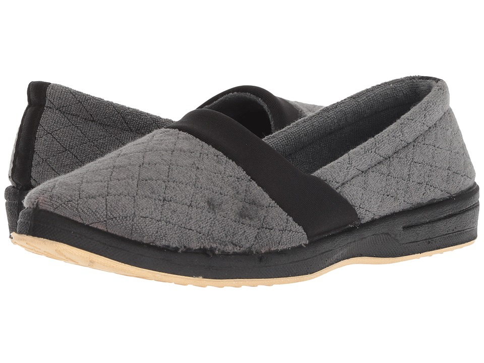 Foamtreads Coddles Black Womens Slippers