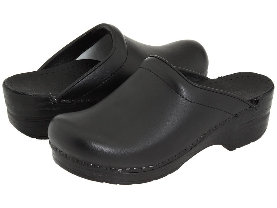 Dansko Sonja (Black Box) Women's Clog Shoes