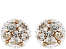 Dazzled Lucite Stud Earrings