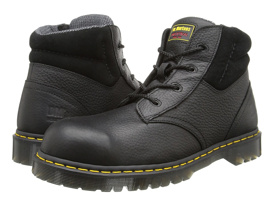 Dr. Martens Work - New Icon 4 Eye Boot (Black) Mens Work Boots
