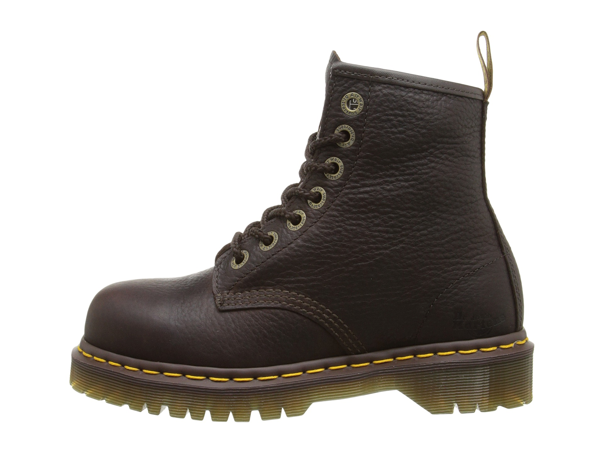 Dr. Martens Work 7B10 ST 7 Eye Boot at Zappos.com