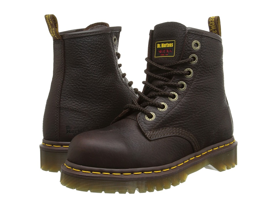 Dr. Martens Work 7B10 ST 7 Eye Boot Bark Work Boots