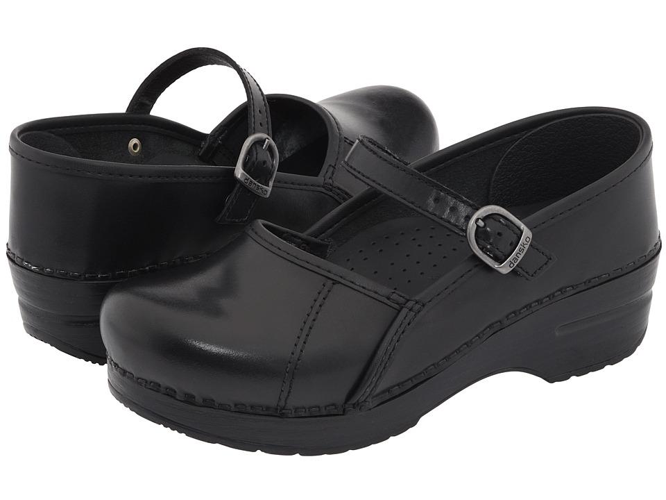 Dansko Marcelle (Black Cabrio) Women's Maryjane Shoes