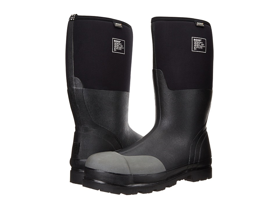Bogs - Rancher Forge Steel Toe (Black) Mens Waterproof Boots