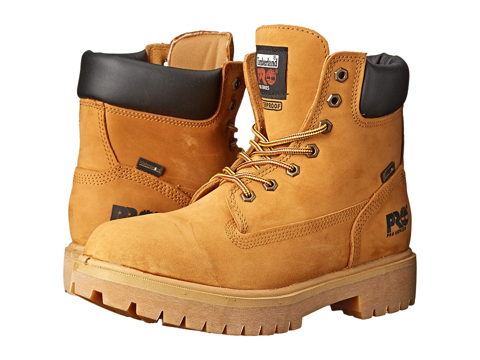 Timberland PRO Direct Attach 6 Soft Toe (Wheat Nubuck Leather) Men