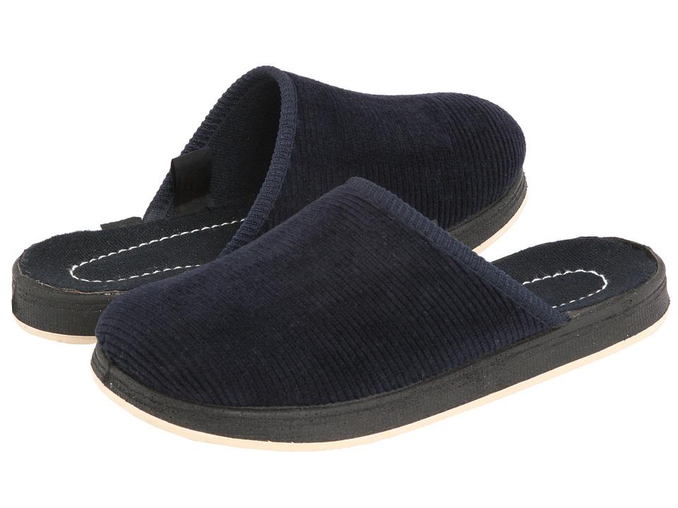 Foamtreads Kids Deeridge Little Kid/Big Kid Navy Corduroy Boys Shoes
