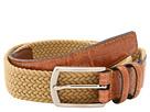 Torino Leather Co. 32MM Italian Woven Multi Cotton Elastic (Khaki)
