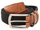 Torino Leather Co. 32MM Italian Woven Multi Cotton Elastic (Black)