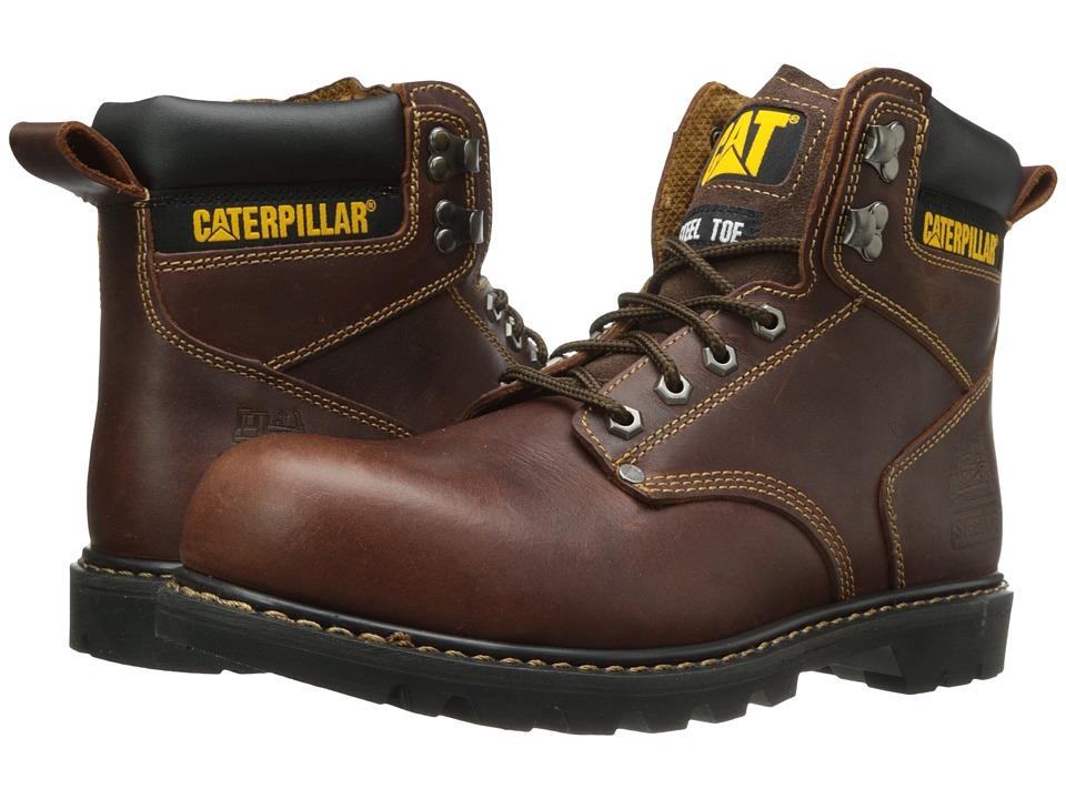 Caterpillar - 2nd Shift Steel Toe (Tan) Men