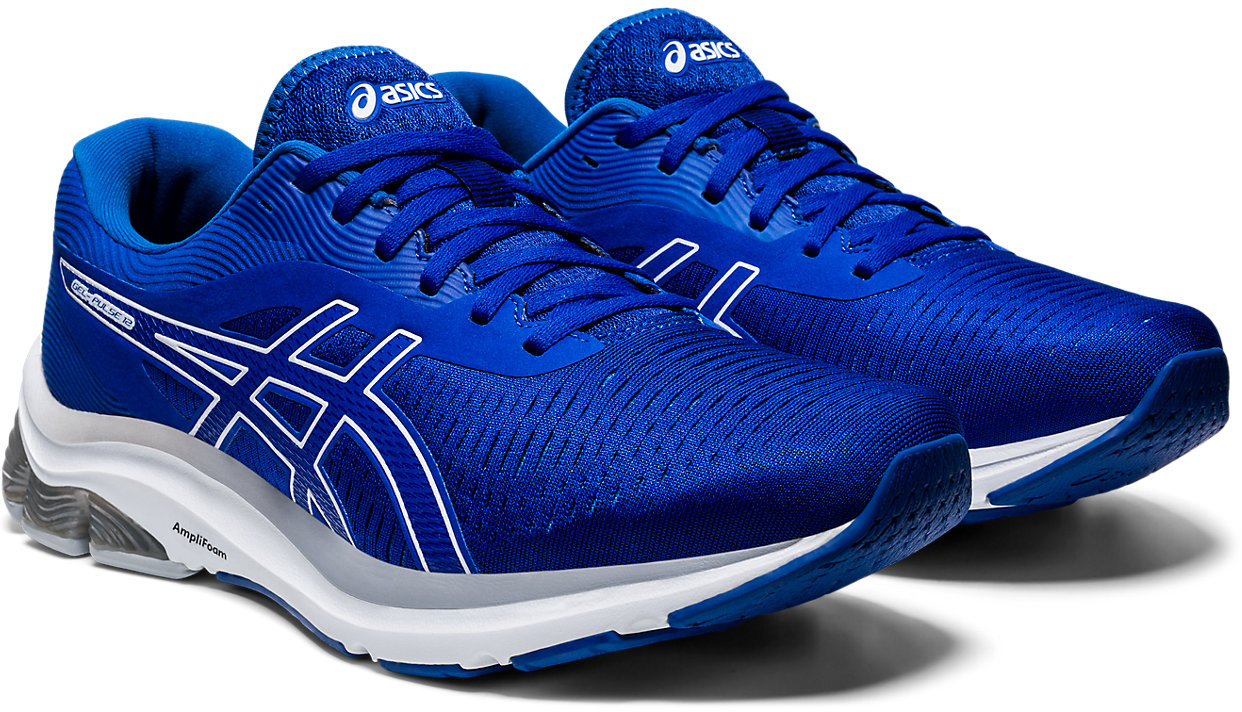 Asics Womens GEL-PULSE 9 Running Shoes Trainers Sneakers Blue Sports Breathable
