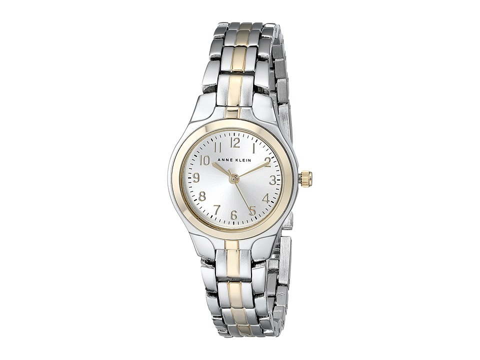 Anne Klein - 10-5491SVTT (Two Tone Round Case) Dress Watches