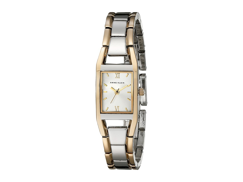 Anne Klein - 10-6419SVTT (Two Tone Case And Bracelet) Dress Watches
