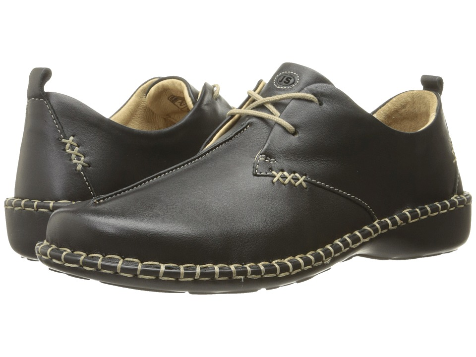 Josef Seibel - Lindsay 2 (Dakota Black Leather) Womens Lace up casual Shoes