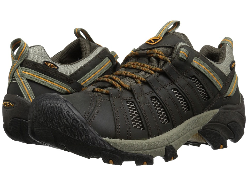 Keen - Voyageur (Black Olive/Inca Gold) Mens Shoes