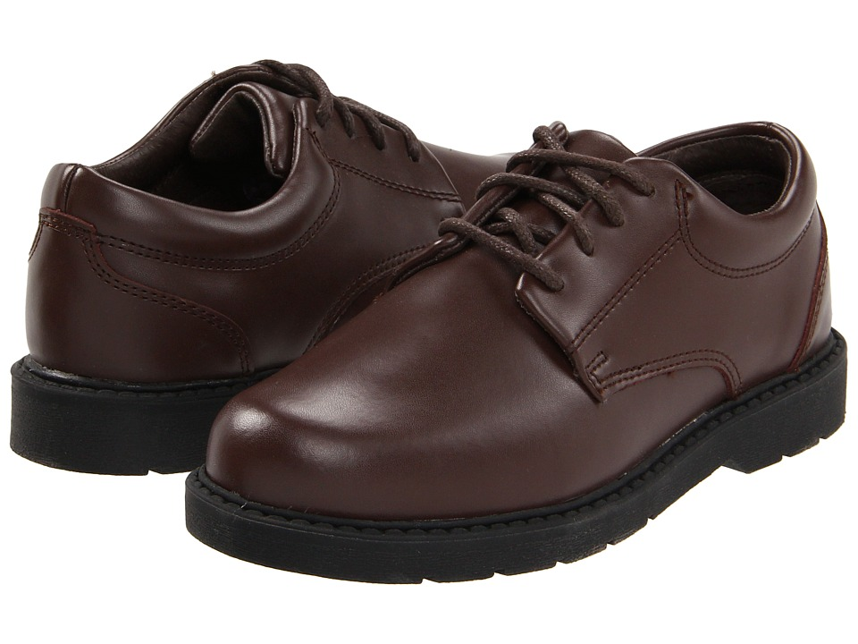 School Issue - Scholar (Toddler/Little Kid/Big Kid) (Brown Leather) Boys Shoes