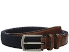 Torino Leather Co. 32MM Italian Woven Multi Cotton Elastic (Navy)