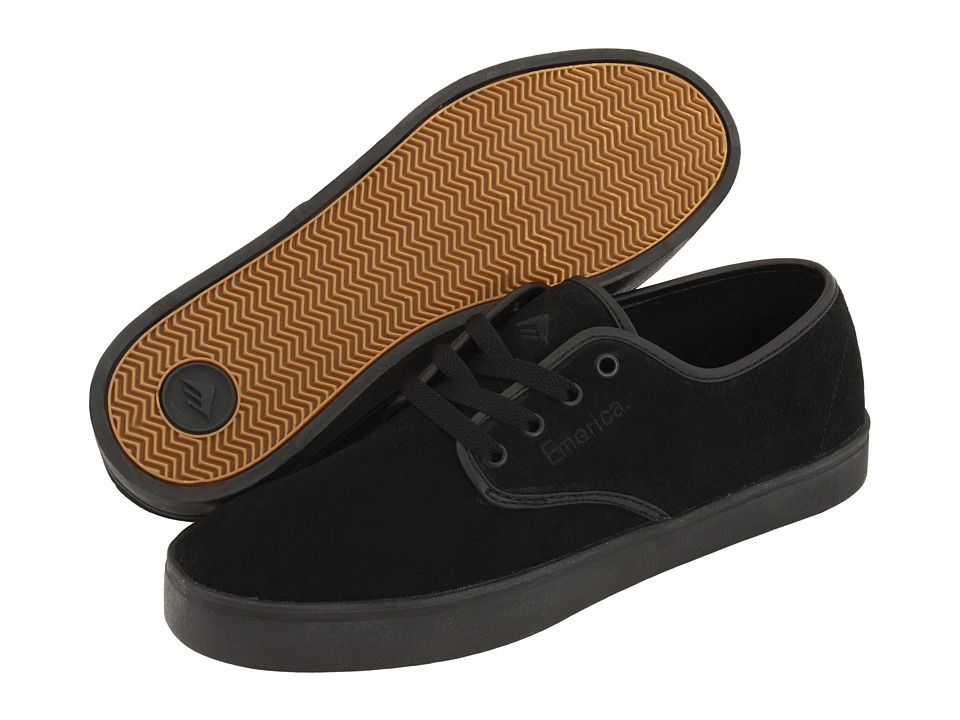 Emerica Laced (Black/Black/Black) Men