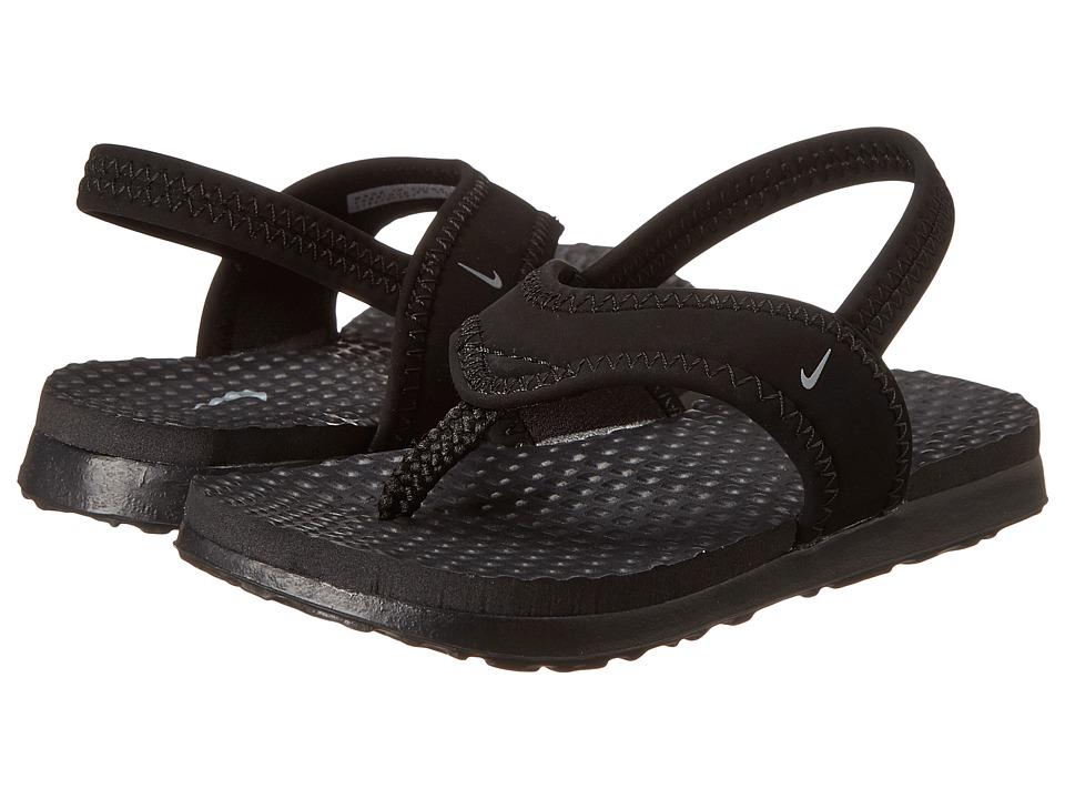 Nike Kids Little Celso (Toddler) (Black/Flint Grey) Boys Shoes