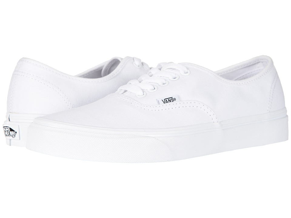 Vans Authentic Core Classics (True White) Skate Shoes