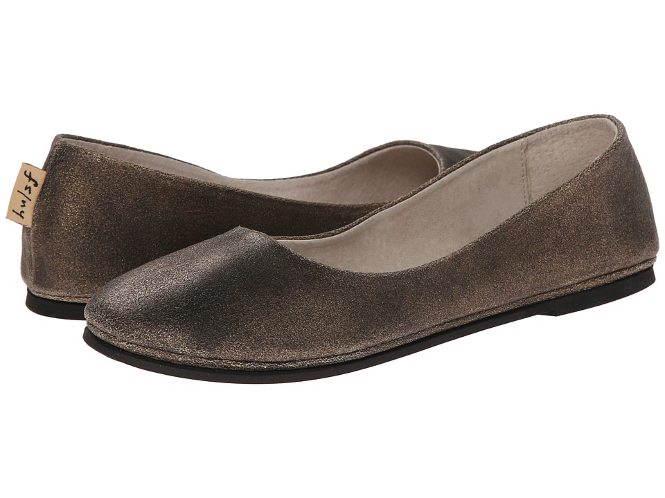 French Sole Sloop (Bronze Metallic Suede) Flats