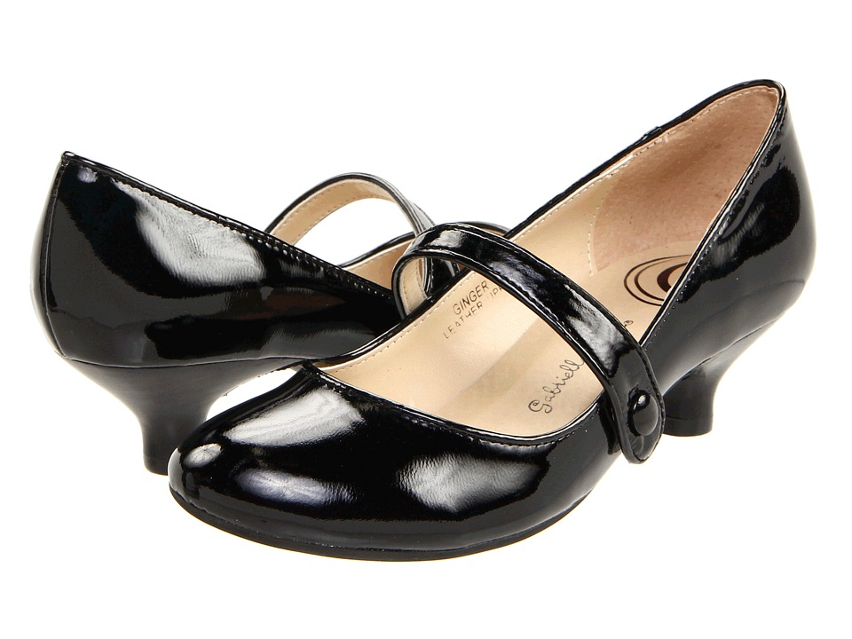 Gabriella Rocha - Ginger Black Patent Leather Womens Maryjane Shoes $65.00 AT vintagedancer.com
