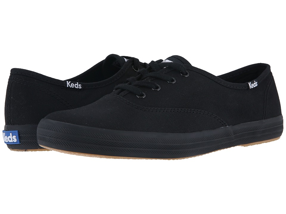Keds - Champion-Canvas CVO (Full Black) Women