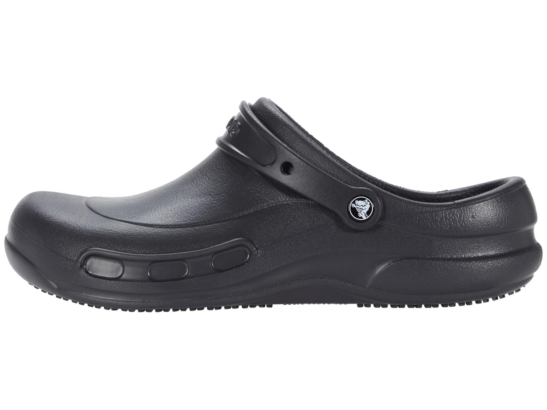 Crocs bistro unisex black free shipping for Cuisine 0 crocs