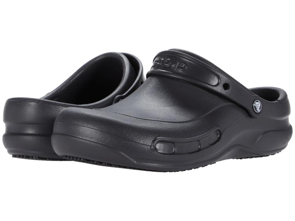 Crocs - Bistro (Unisex) (Black) Clog Shoes