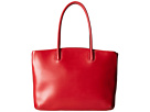 Lodis Accessories Audrey Milano Tote With Laptop Pocket (Red)