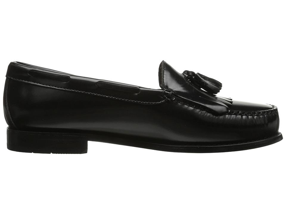 bass layton kiltie tassel s slip on shoes