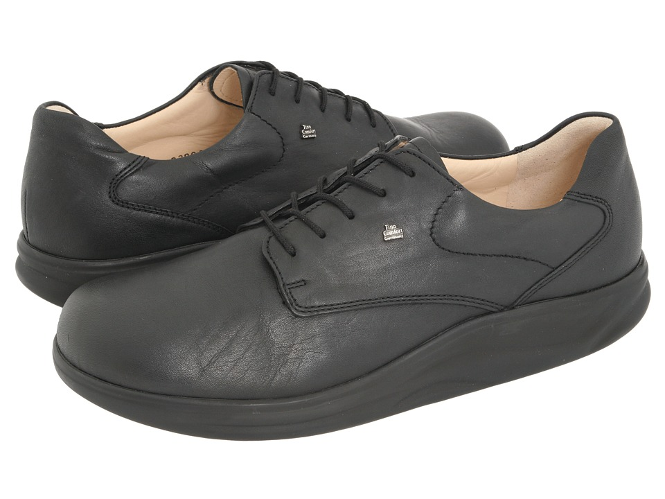 Finn Comfort - Pretoria - 2901 (Black Seda Nappa) Lace up casual Shoes