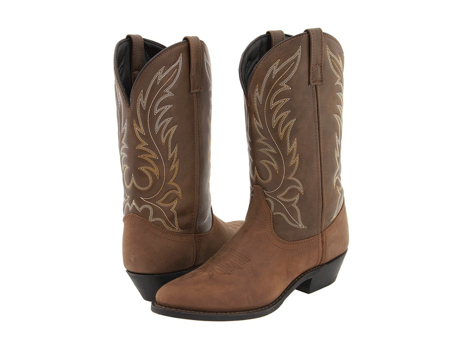 Laredo Kadi (Tan Distressed) Cowboy Boots