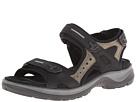 ECCO Sport - Yucatan Sandal (Black/ Mole/ Black) -