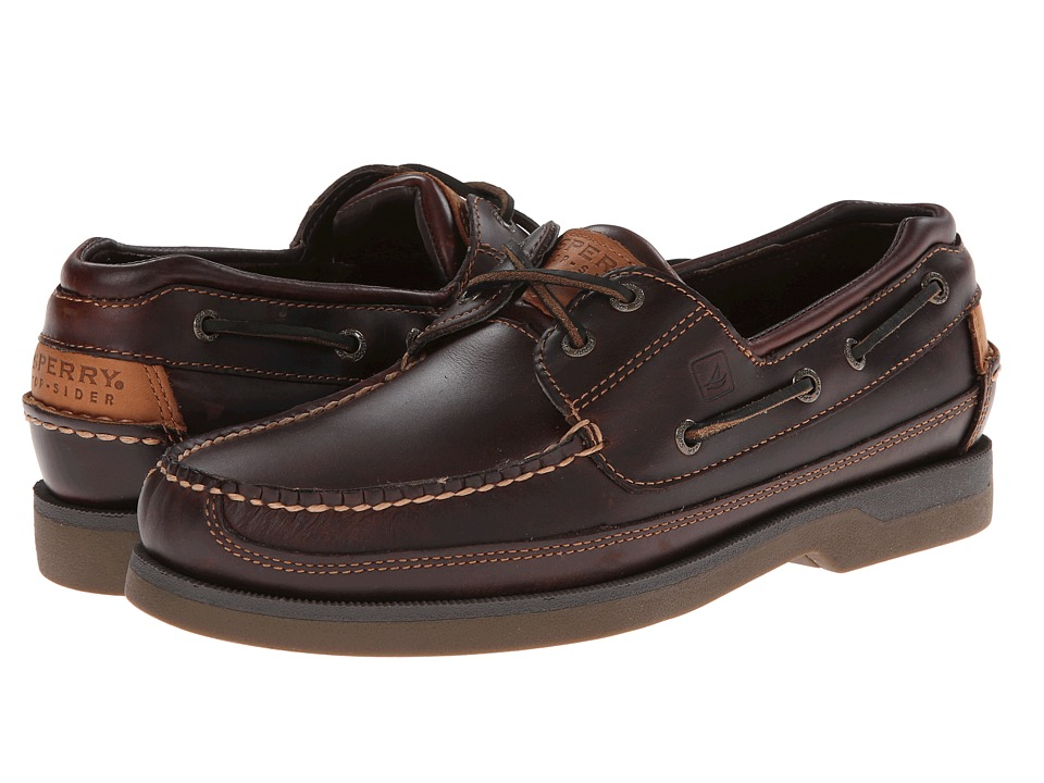 Sperry - Mako 2-Eye Canoe Moc (Amaretto) Mens Lace up casual Shoes