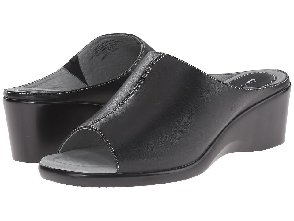 David Tate Gloria (Black) Sandals