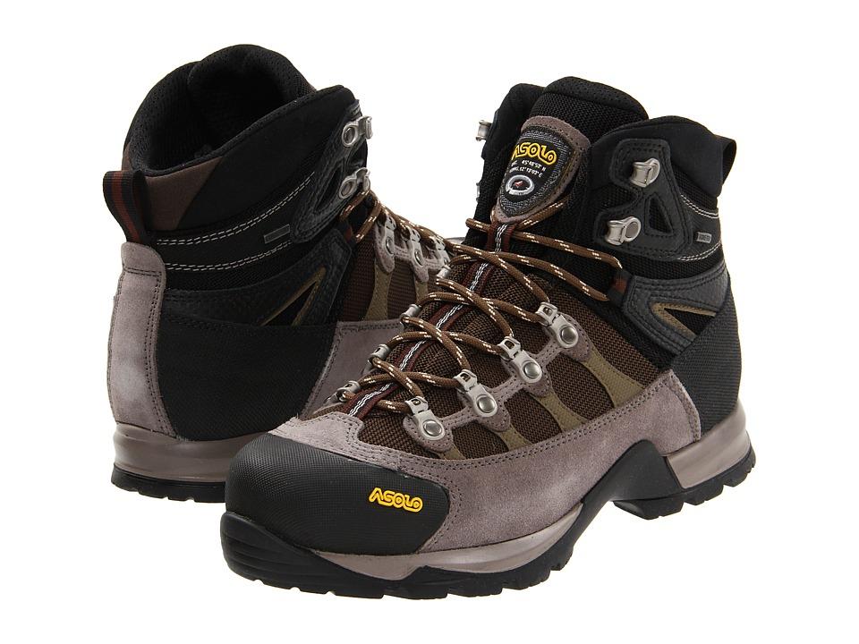 Asolo Stynger GTX (Cendre/Dark Brown) Women's Boots