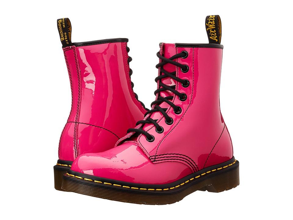 Dr. Martens - 1460 W (Hot Pink Patent) Women