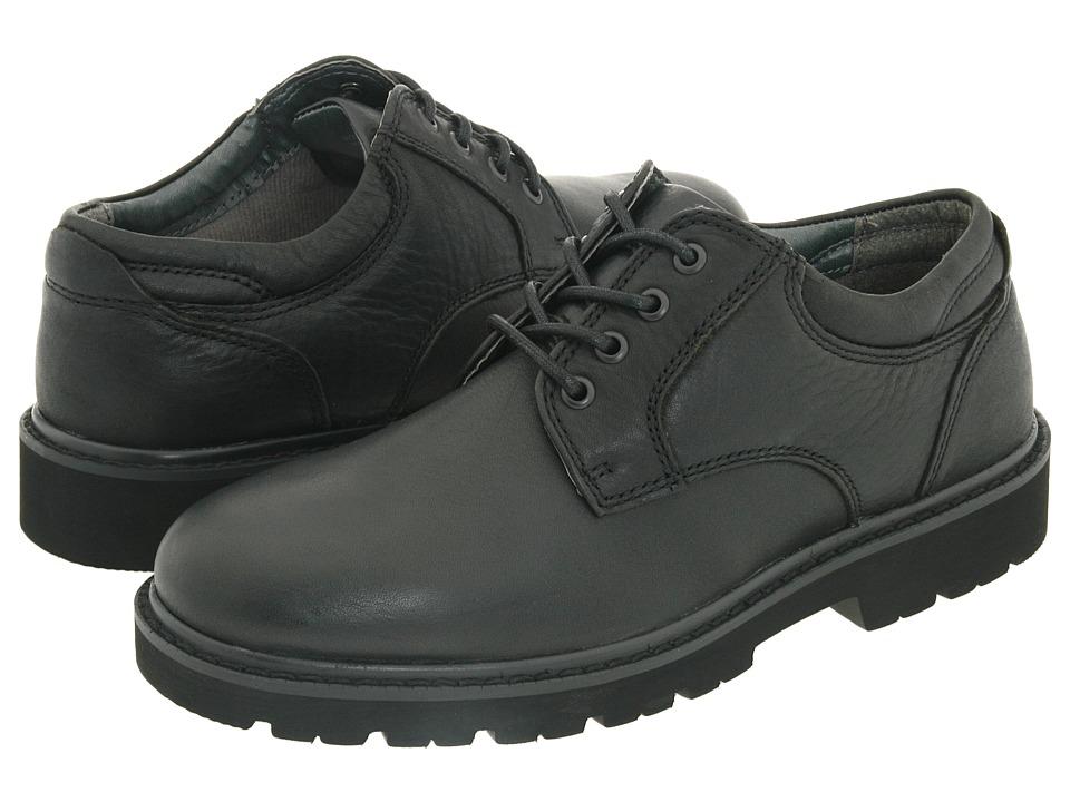 Dockers Shelter (Black Full Grain Leather) Men