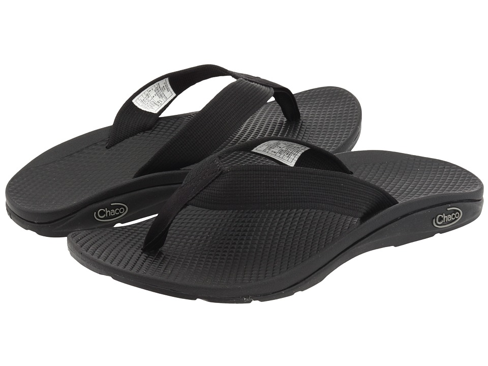 Chaco - Flip EcoTreadtm (Black) Womens Shoes