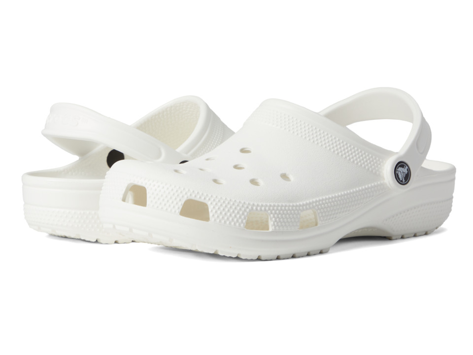 Crocs Classic Clog (White) Clog Shoes