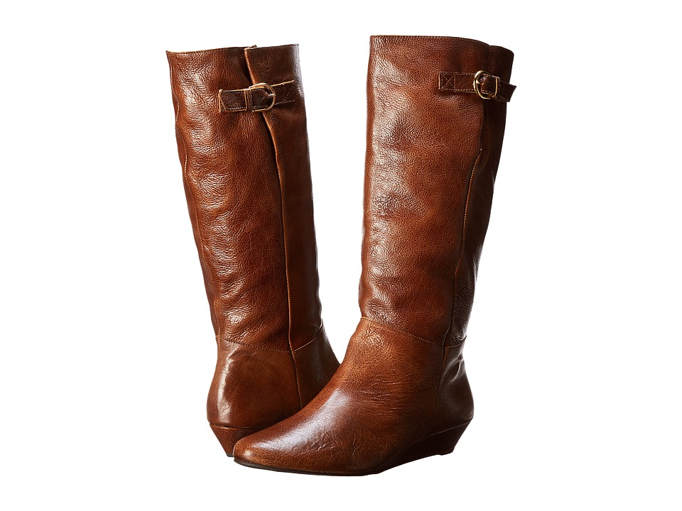 Steven Intyce (Cognac Leather) Women's Pull-on Boots