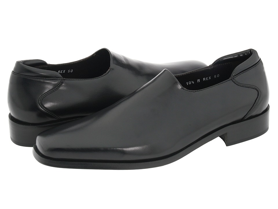 Donald J Pliner - Rex (Black Nappa Stretch) Mens Shoes